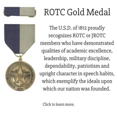 ROTC Gold Metal