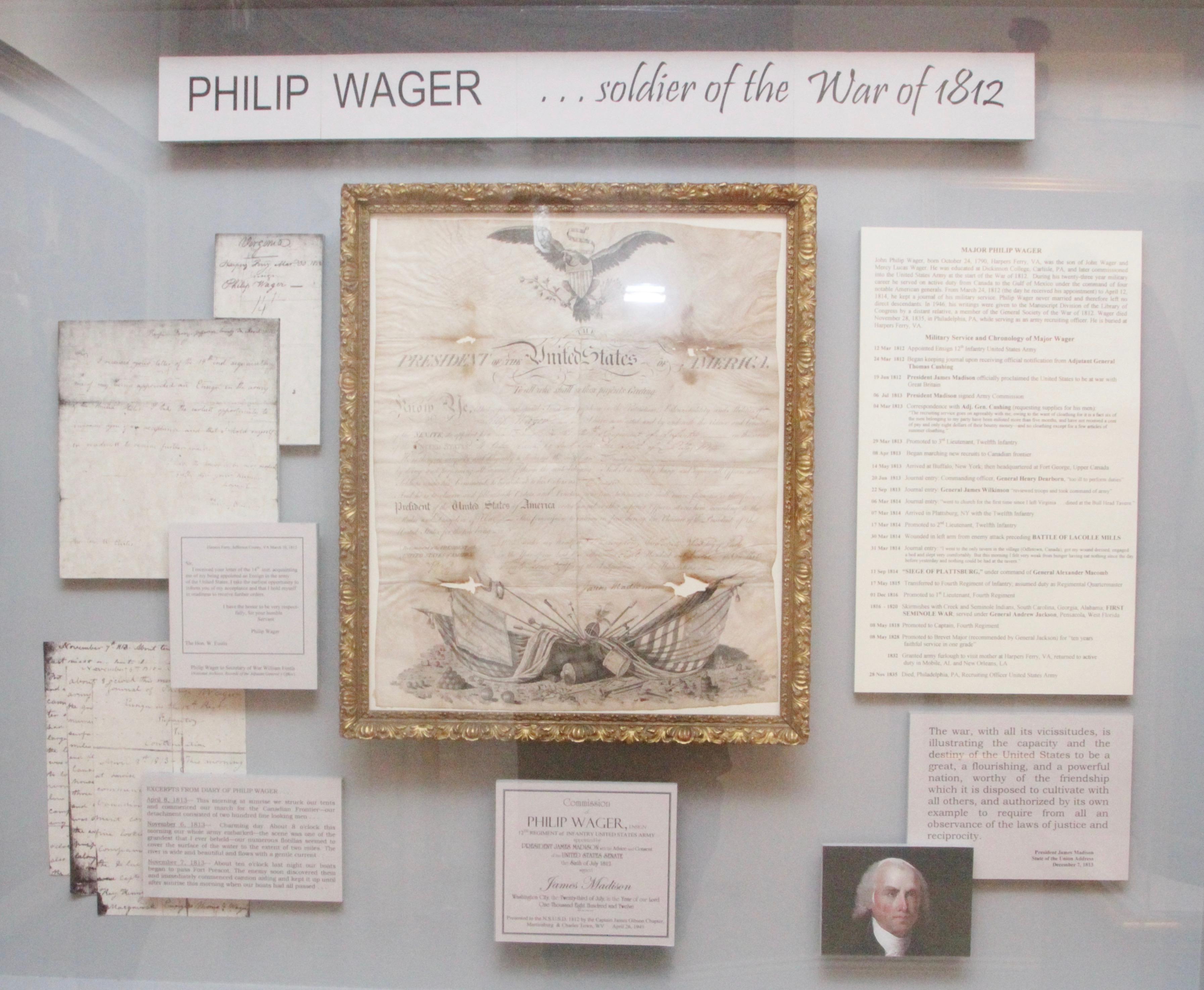 1812 Museum - Memory Box
