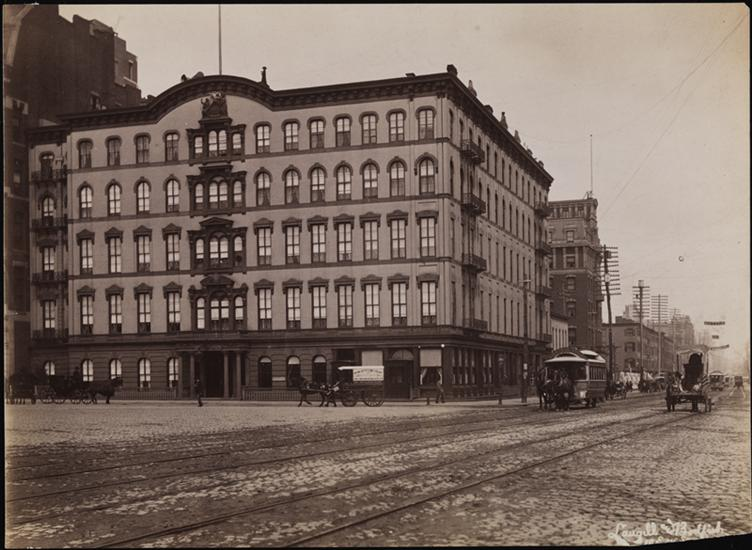 History - The Everett House Union Square and 14th Street, NY City Headquarters of the early General Society