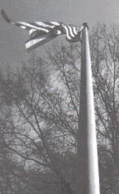 1812 Museum - Flag on Flagpole