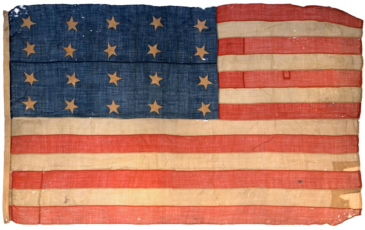 The Flag Act - 20 Star Flag