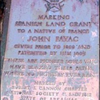 Land Grant Marker