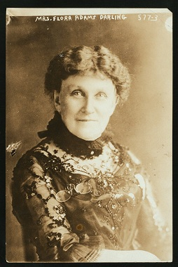 History - Mrs. Flora Adams Darling Founder and 1st President, 1892-1897