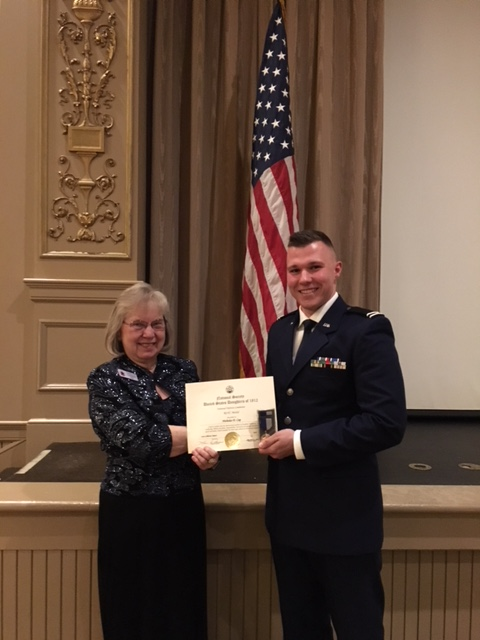 Ohio State University Air Force ROTC Award Presentation - United States Daughters of 1812