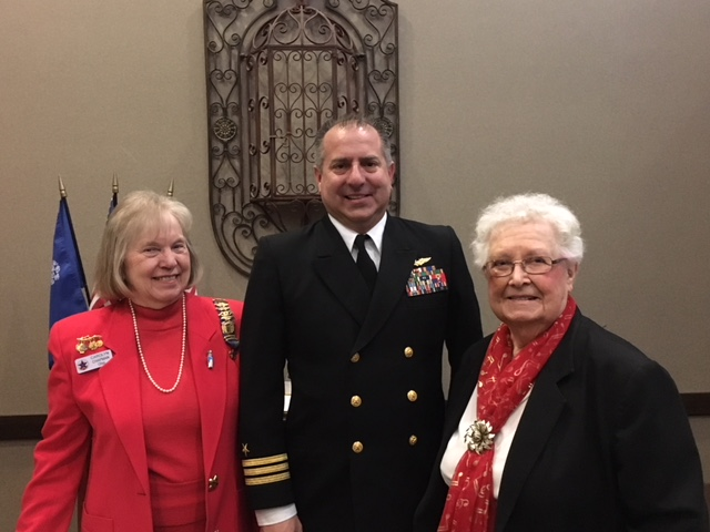 Commander Dustin Martin JROTC Director Grove City High School - United States Daughters of 1812