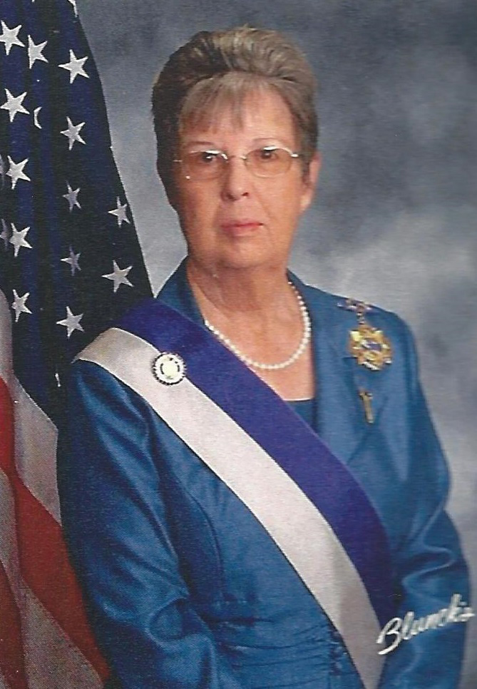 Nona Quinn - Honorary President National - United States Daughters of 1812 - Quasquicentennial